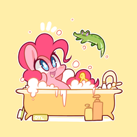 Bath time by MACKINN7