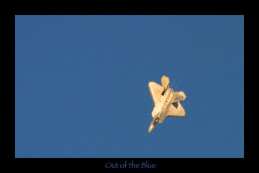 Raptor Out of the Blue by Atmosphotography