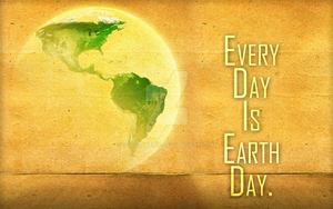 Every Day is Earth Day by salmanarif