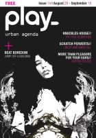 PLAY ISSUE 14 COVER_BW by Dozign