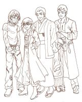 Japanese Yakuza Family by eyriemase
