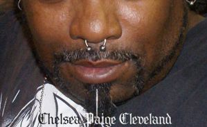 Septum piercing with circular barbell by SmilinPirateTattoo