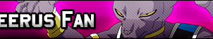Beerus Fan Button by GeneralGibby