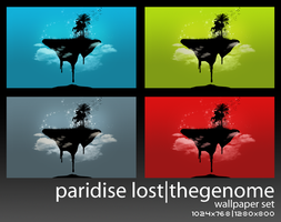 Paridise Lost - WALLPAPER by thegenome