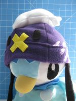 Piplup Cosplays as Drifloon 3 by PaperCadence