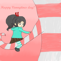 Happy Vannytines Day! by kittenScientist
