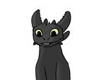 Toothless Without background by fireg