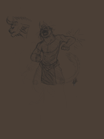 Charr practice by Sketchyeh