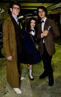 The Doctors and Their Companion by Indefinitefotography