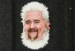 Guy Fieri's cells, under a microscope by UncleBibby47