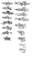 Weapon Concepts II by Lean-V
