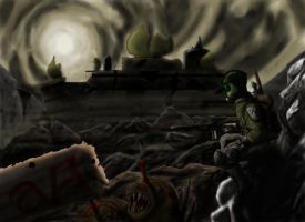 Artyom: Ranger of the Wastes by TatterTailArt