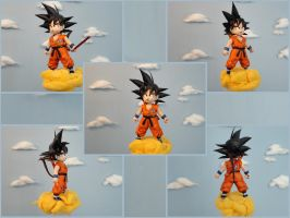 Goku Kid Papercraft by BRSpidey