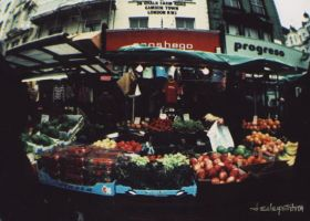 Produce Stand by lesleysilvia