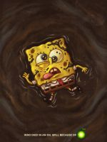 Spongebob Oil Spill Kill by unknown-artwork