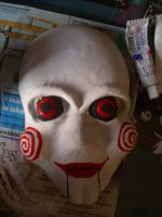 Billy, the jigsaw puppet by Lord-Vincent
