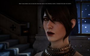 Morrigan in Dragon Age: Inquisition by Burnouts3s3