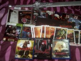 my devil may cry collection by DanteJackpot