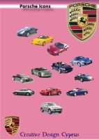 Porsche Icon Set by cyprus13