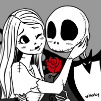 Jack + Sally by kemariel
