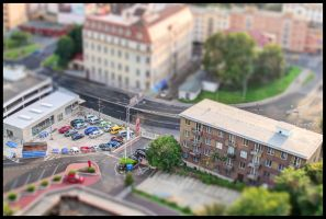 Miniature of my town by Pildik