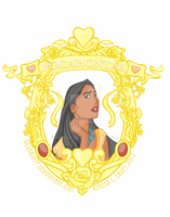 Disney Heroine: Pocohontas by KeresaLea