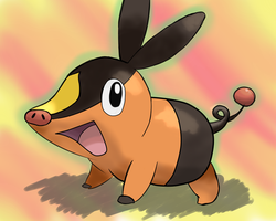 Tepig by KINLINK
