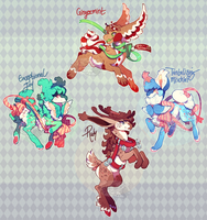 {auction} - Christmas Children CLOSED by PhloxeButt