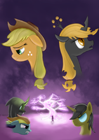 Irony of Applejack Poster by Plainoasis