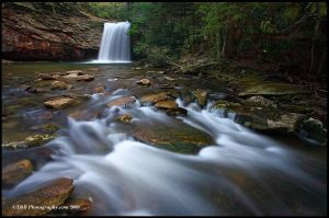 Little Stoney Falls April 09 by TRBPhotographyLLC