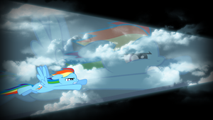 Flying Through The Sky by Silentmatten