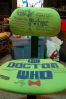 My amazing Doctor Who/Harry Potter Chair by Elksgirl
