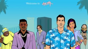 Welcome to Vice City, Welcome to the 80's by AndreiVercetti