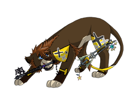 Sora-Lion Master Form by BosleyBoz