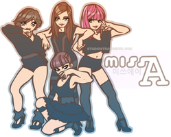 Miss A by pu