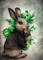 Le lapin diabolique by YourCottonmouth