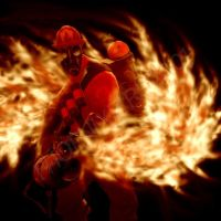 Team Fortress 2: Pyro FLAMES by VermilionEclipse