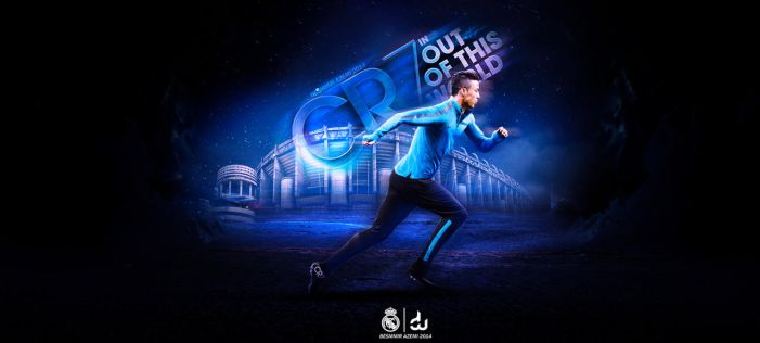 CR7 IN OUT OF THIS WORLD by daWIIZ