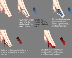 Shoes Tutorial by BellaTheGod