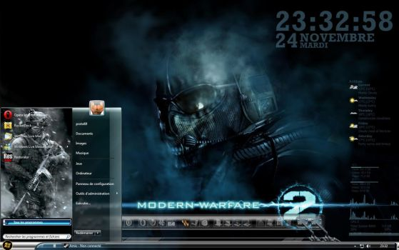 theme cod mw2 for win7 by proto69