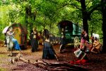 Gypsy Campsite by Silverunicorn
