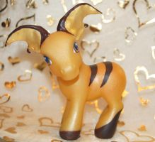 Raichu Custom Pony by bunny-san
