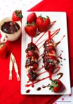 Strawberry Banana On Skewers by theresahelmer
