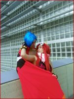 Yoko and Kamina - TTGL by Thara-Wood