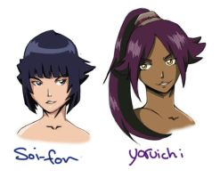 Bleach faves characters 3 by Spirit-woods