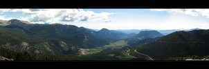 View From Above Panorama by orangeillini14