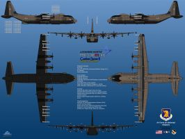 Lockheed MC-130M-30 Combat Spear II by haryopanji