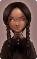 Wednesday Addams by Do0dlebugdebz