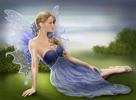Blue Fairy by AlessiaC