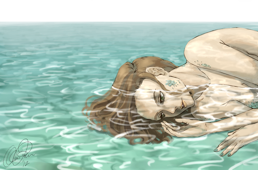 Shallow Waters by AlkeeDesign